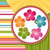 Hawaii Digital Paper, Hibiscus Flowers