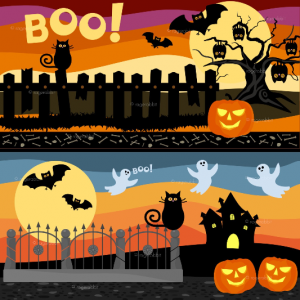 Vector Illustrations Hallween