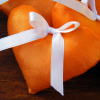 Orange Handmade Hearts
