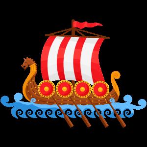 PNG File Viking Ship