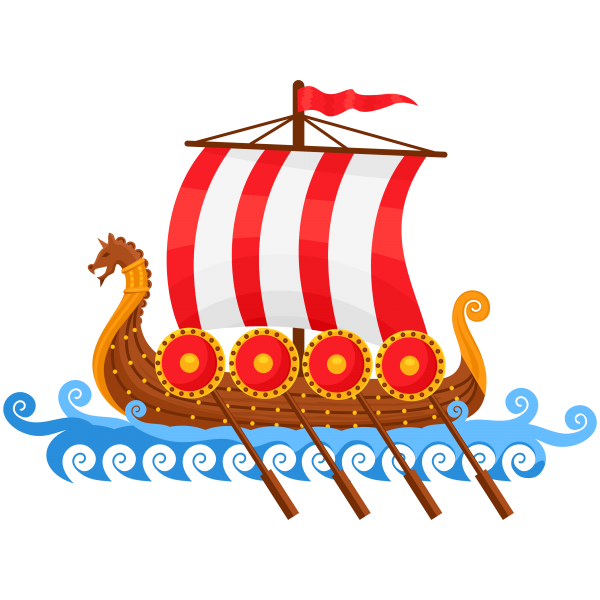 PNG File Viking Ship