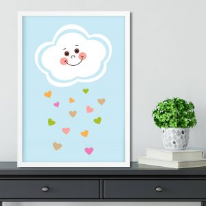 Cloud Wall Art Nursery Print