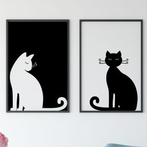 Printable Black and White Wal Art