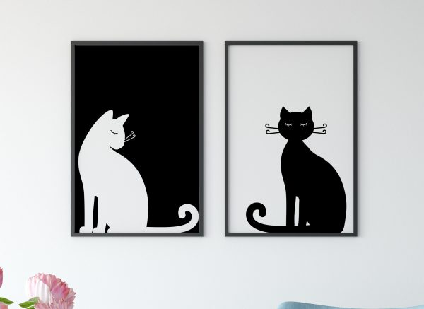 Printable Black and White Wal Art