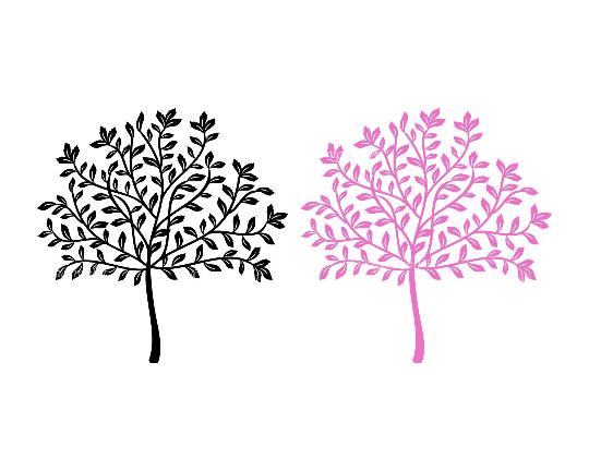 Vector Tree SVG Files