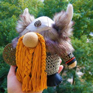 Doll Viking Handmade Warrior