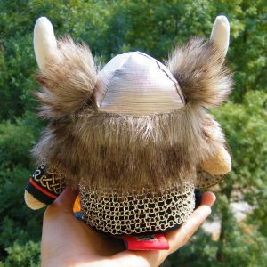 Handmade Viking Doll