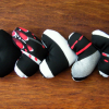 Handmade White, Black and Red Gift Hearts