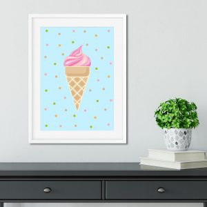 Wall Art Icecream Printable