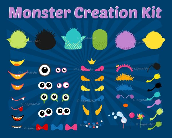 Creation Kit Monsters Halloween