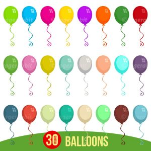 Balloons Vactor Illustrations