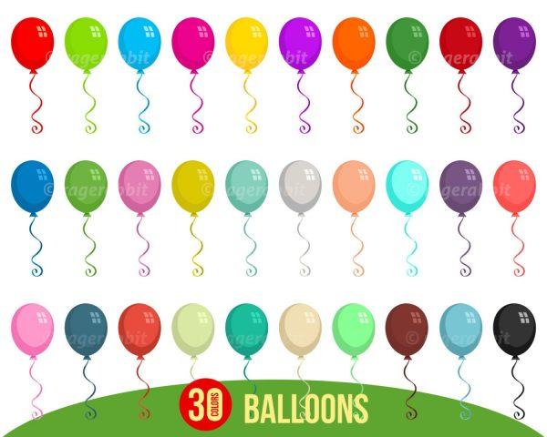 Balloons Vactor Illustrations