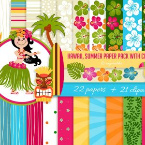 Hawaiian Bundle Clip Arts