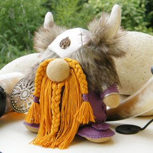 Handmade Warrior Doll Viking Army