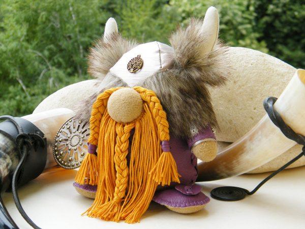 Handmade Warrior Doll Viking Army