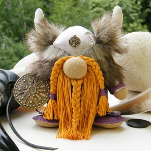 Warrior Doll Viking Handmade