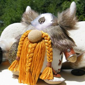 Handmade Doll Viking