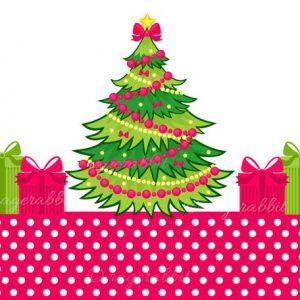 Icons set Christmas illustrations