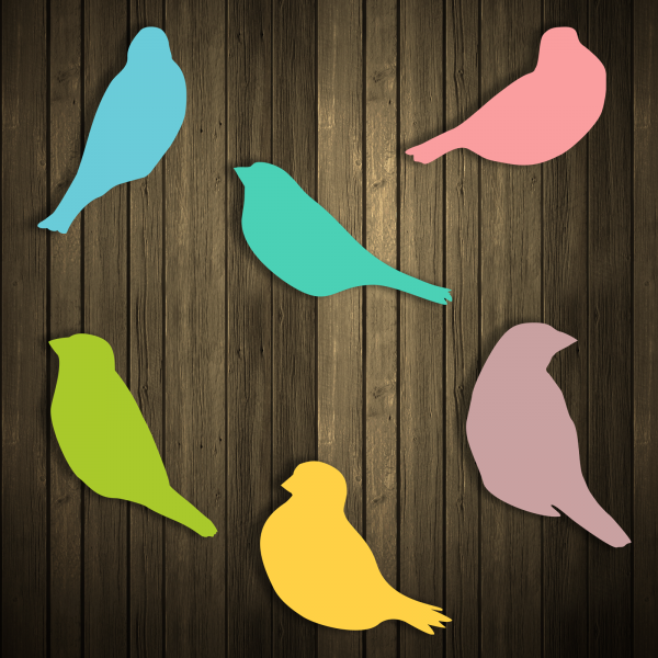 svg cut files sparrow birds