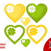 Vectors Clovers Saint Patrick