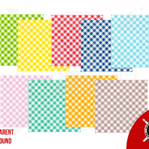 Vector Gingham Squares SVG