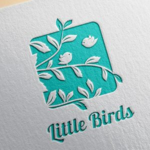 little birds logo sign