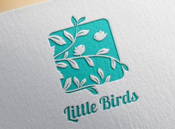 little birds logo sign